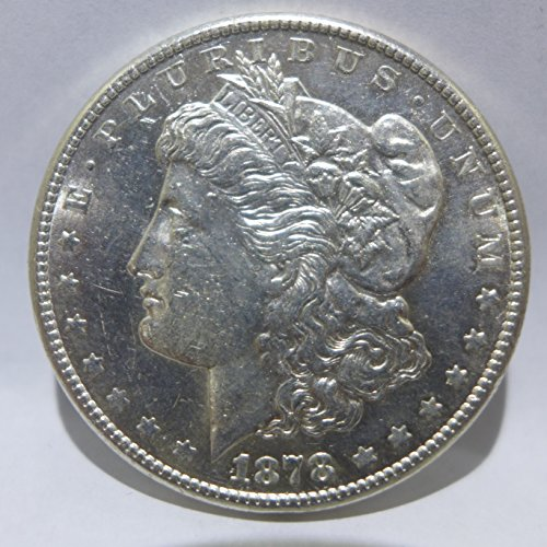 1878 S Morgan Silver Dollar Almost Uncirculated