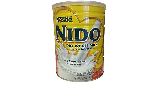 NIDO Instant Full Cream Milk Powder, 900g: Amazon.es: Alimentación y ...