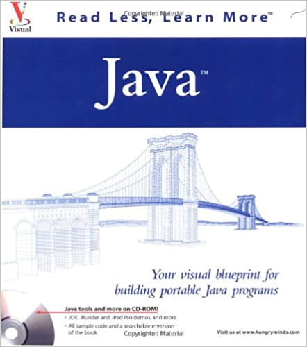 Java your visual blueprint for building portable java programs java your visual blueprint for building portable java programs visual read less learn more malvernweather Gallery