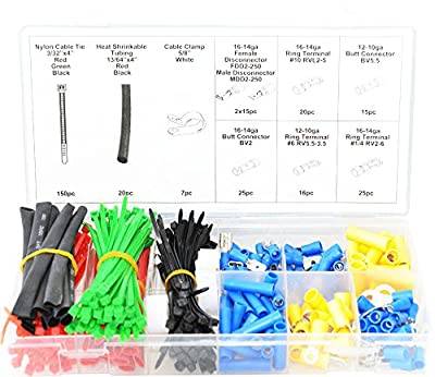 Swordfish 71280 Electrical Connector Assortment, 308 Piece