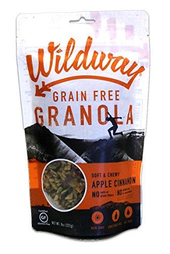 - Wildway Vegan Granola | Apple Cinnamon Granola | Certified Gluten-Free, Grain-Free, Paleo, Non-GMO, No Artificial Sweetener, 8oz
