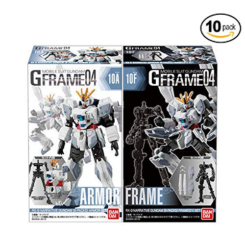 - Mobile Suit Gundam G Frame 04 10Pack Box (Candy Toy)
