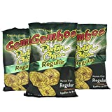 GEMBOS Plantain Chips Regular/Sal 24-PACK