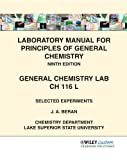 img - for Laboratory Manual for Principles of General Chemistry 9th Edition for CH 116L for Lake Superior State University book / textbook / text book