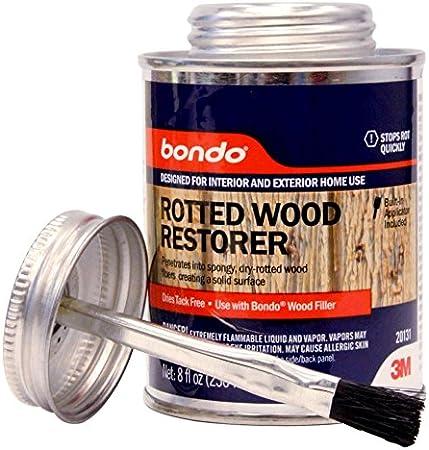 Bondo 20131 Rotted Wood Restorer 8 Oz Amazon Ca Automotive