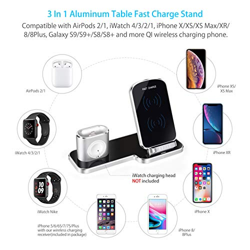 BBOES-3-in-1-Luxury-Aluminum-Desktop-Fast-Charger-QI-Wireless-ChargerFree-QI-Wireless-Receiverfor-Apple-Iwatch-Airpod-iPhone-XXSXR876s-Plus-Bracket-Charging-Station-for-Iwatch-4321-Silve