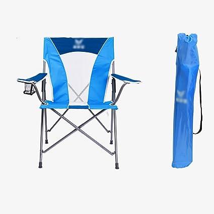 WSSF- Silla de Camping Plegable de Hierro Ligero Respiradero ...