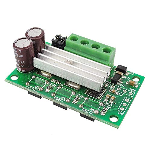 uniquegoods 6V 12V 24V 28V 3A 80W DC Motor Speed Controller PWM Adjustable Variable Speed Switch DC Motor Controller With Wire Harness 1203BKW