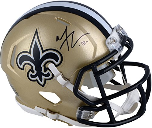 Michael Thomas New Orleans Saints Autographed Riddell Speed Mini Helmet - Fanatics Authentic ()