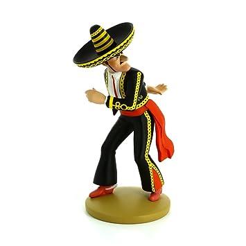 Figura de colección Tintín Alcázar lanzador de cuchillos ...