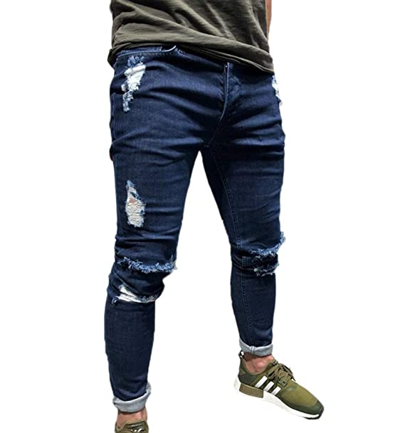 Pantalones Vaqueros de los Hombres, Pantalones de los ...
