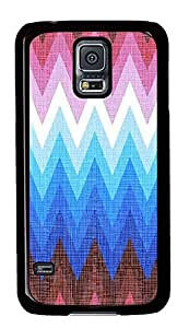 Samsung Galaxy S5 patterns abstract colors parallax 1 1 2 PC Custom Samsung Galaxy S5 Case Cover Black