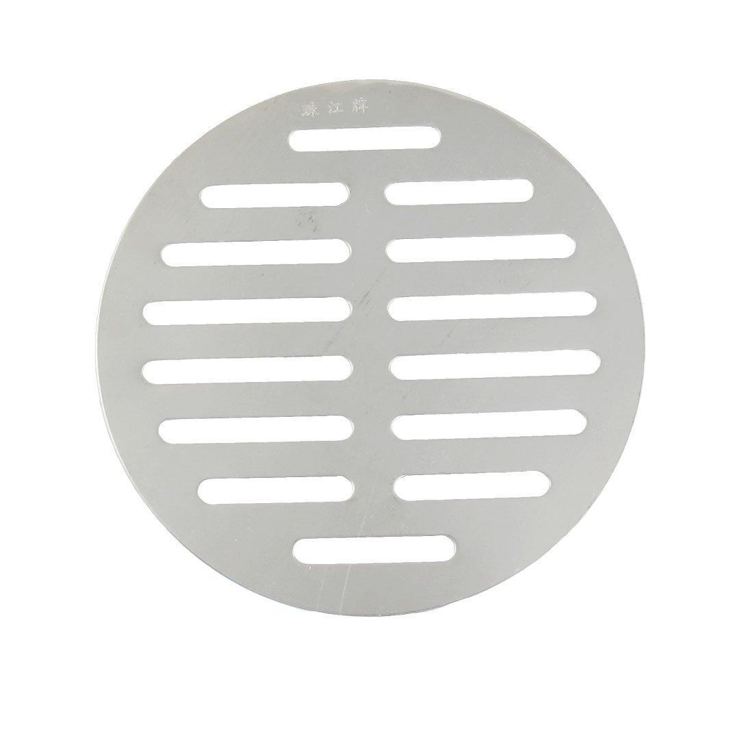 Fengh argento tondo in acciaio INOX scarico a pavimento cover-bathroom forniture
