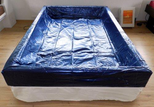 Cama de agua solo vinilo de seguridad/ Liner proteccion Softside - todos los tamanos