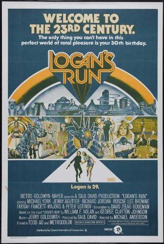 Logan/'s Run movie poster print