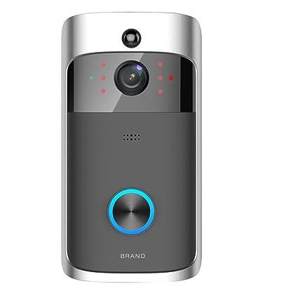 Wireless WiFi DoorBell Smart Video Phone Door Bell Intercom Home Security Camera