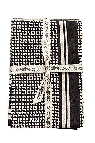 Dots Tea Towel - Creative Co-op S/3 28