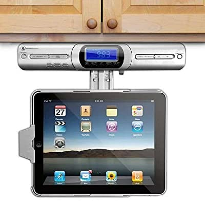 Innovative Technology Under Cabinet iPad Player Dock - FM Radio, Speakers & with Full Functional Remote from Innovative Technology Electronics Corp.