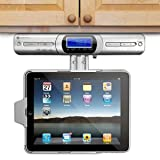 Innovative Technology Under Cabinet iPad Player Dock - FM Radio Speakers & with Full Functional Remote