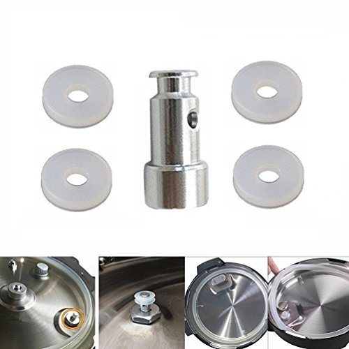 Universal Replacement Floater and Sealer for Pressure CookersFaberware Steam Valve Such as XL,IP-DUO60,YBD60-100, PPC780, PPC770 PPC790 1 Floater and 4 Sealer