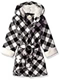 Petit Lem Kids' Little Holiday Unisex Hooded Robe, Comfy, Cute and Cozy Softness, Off White, 6