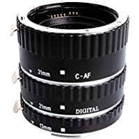 Mcoplus Extcm Auto Focus Metal Macro Extension Tube Set for Canon EOS EF EF-S SLR Cameras