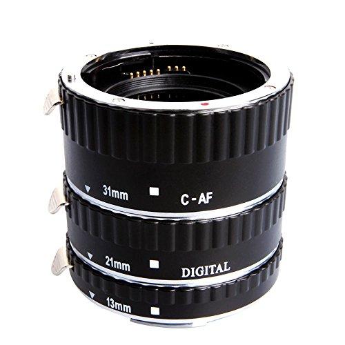 UPC 702658444013, Mcoplus Extcm Auto Focus Metal Macro Extension Tube Set for Canon EOS EF EF-S SLR Cameras