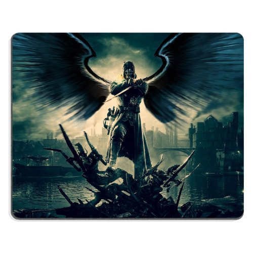 Price comparison product image Dishonored Ps3 Collectors Edition Mouse Pads Anime Game Manga Comic ACG Customized Made to Order Support Ready 9 7/8 Inch (250mm) X 7 7/8 Inch (200mm) X 1/16 Inch (2mm) High Quality Eco Friendly Cloth with Neoprene Rubber Woocoo Mouse Pad Desktop Mousepad Laptop Mousepads Comfortable Computer Mouse Mat Cute Gaming Mouse_pad