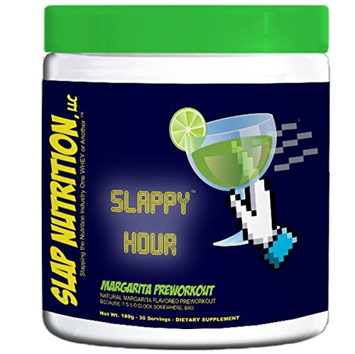 Slap Nutrition Preworkout Formula - 45 Servings (Slappy Hour Margarita) (Slap Cup)