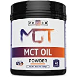 MCT Oil Powder - The Keto Friendly Fat for Sustained Energy and Appetite Control - Zero Net Carbs and Easy on Your Stomach - Ketogenic Supplement Perfect for Coffee Creamer, Smoothies, Shakes & More!