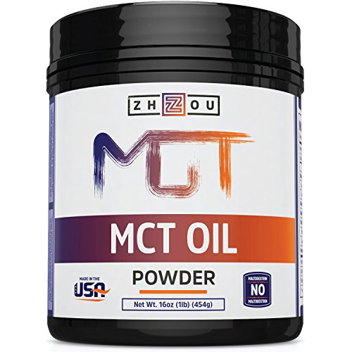 Price comparison product image MCT Oil Powder - The Keto Friendly Fat for Sustained Energy and Appetite Control - Zero Net Carbs and Easy on Your Stomach - Ketogenic Supplement Perfect for Coffee Creamer, Smoothies, Shakes & More!