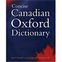 Concise Canadian Oxford Dictionary