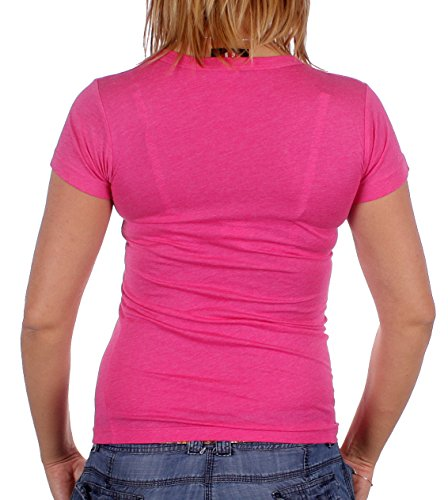 Junk Food - Camiseta - Básico - para mujer rosa rosa medium
