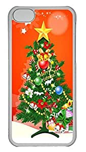 iPhone 5C Case 3D Christmas Trees PC iPhone 5C Case Cover Transparent