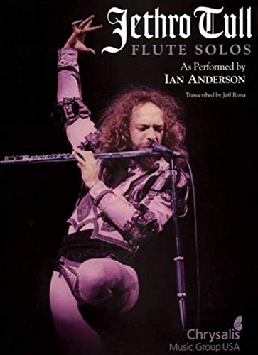 Jethro Tull Flute Solos - As Performed By Ian Anderson Flt Book: Songbook für Flöte