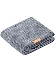 "Aquis Essential Waffle Luxe Hair Towel 19x42""- Moody Grey"