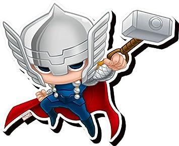 Aquarius Avengers Thor Chibi Funky Chunky Magnet