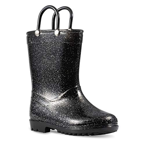Chillipop Children's Glitter Rain Boots for Little Kids & Toddlers, Boys & Girls ()