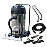 Kiam Workshop Warehouse Vac KV80-3F Triple Motor Industrial Wet & Dry Vacuum Cleaner with Front Mounted Squeegee - 3600W