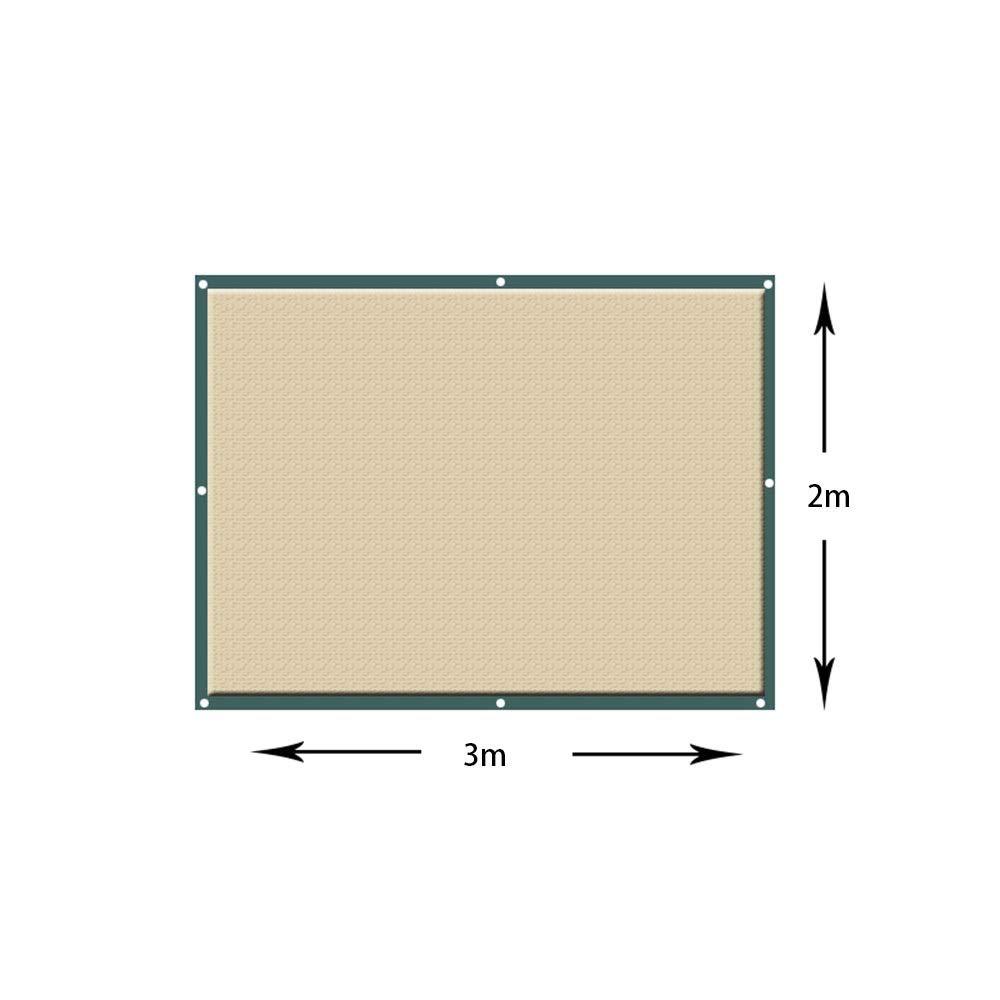 Axdwfd Paralume, 90% tendina parasole resistente ai raggi UV, telo a rete a paralume per giardino per copertura vegetale, serra, sDimensione o canile, pannello in stoffa per l'ombreggiatura di fiori, piant