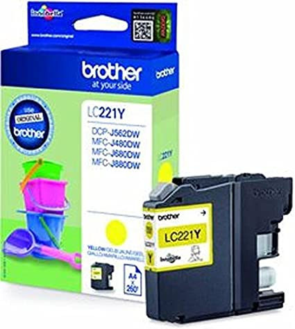 1 cartucho de tinta original Brother LC221 LC 221 LC-221 para ...
