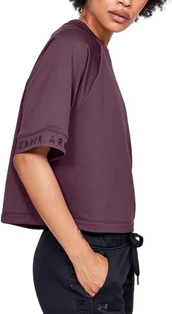 Under Armour Kadın Tech Terry Fashion Pullover Sweatshirt