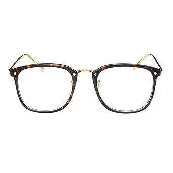 Deylaying Mode Petite vue Des lunettes Myope Des lunettes Gros Plein Cadre  Myopie Lunettes -1.00-1.50 -2.50-3.50 -4.50-5.50 -6.00 (Ces sont pas  lunettes de ... 8f182631bd2