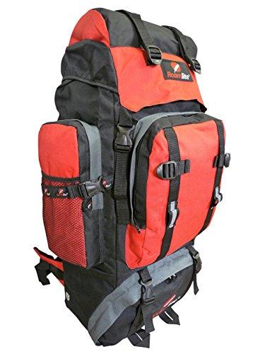 Roamlite Reiserucksack Bergens Camping RL15M Schwarz Rot h8xQtT