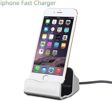 iPhone Charging Dock Station, Bebetter 8 pin Charging Dock Compatible with Apple iPhone 8, iPhone X, iPhone 77 Plus 6 6S Plus 5 5S Retail Packaging