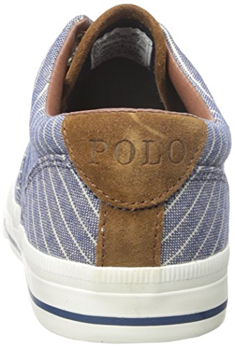 ... Polo Ralph Lauren Mens Vaughn Suiting-Stripe Fashion Sneaker Navy  6j6bkiR ...