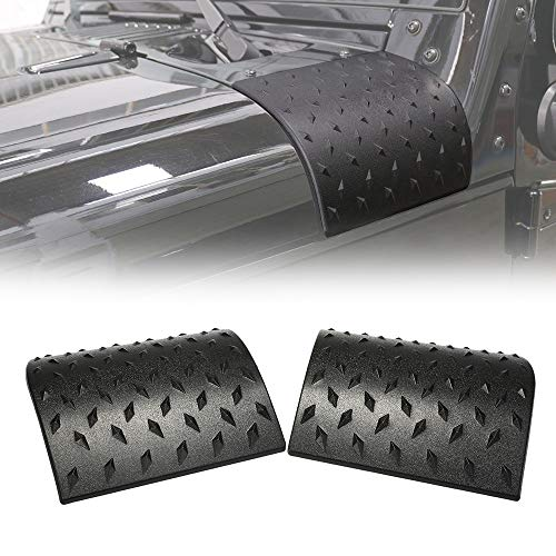 OKLEAD Cowl Body Armor Outer Cowling Cover Exterior Accessories Part for Jeep Wrangler Rubicon Sahara Jk Unlimited 2007-2018″