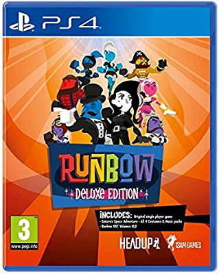 Runbow Deluxe Edition PlayStation 4 by Merge Games: Amazon