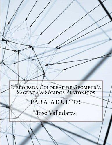 Amazon.com: Libro para Colorear de Geometría Sagrada & Sólidos ...