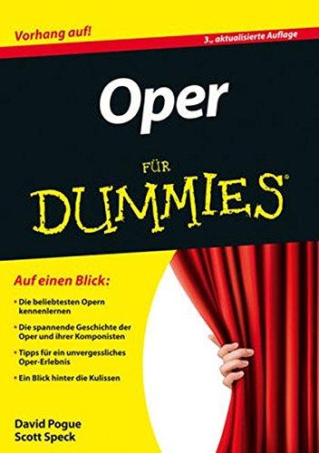 Oper für Dummies
